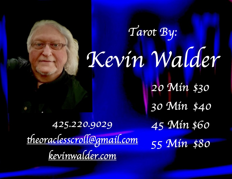 Tarot by Kevin new sign